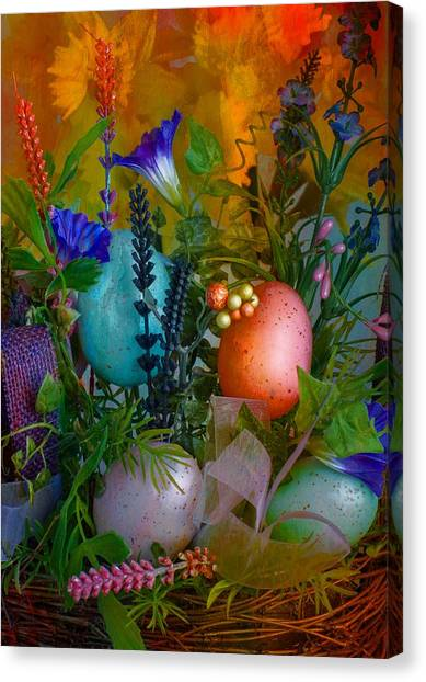 Canvas Print featuring the photograph Spring Watercolor  by Michael Moriarty