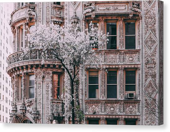 Spring West 58 And 7th Canvas Print by Vincent James
