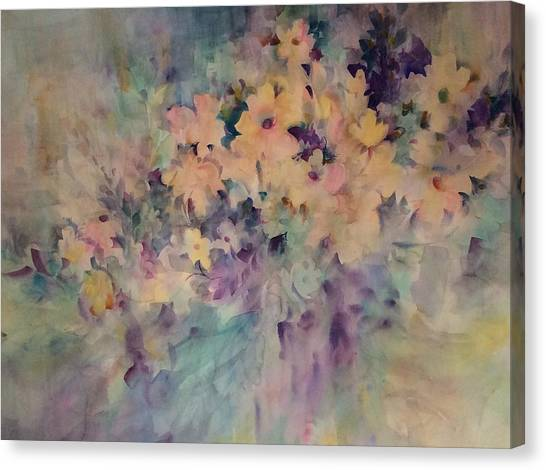 Springtime Bouquet Canvas Print