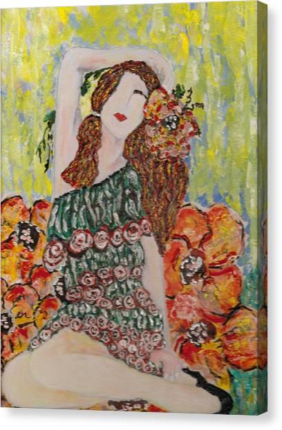 Springtime Canvas Print by Cynda LuClaire