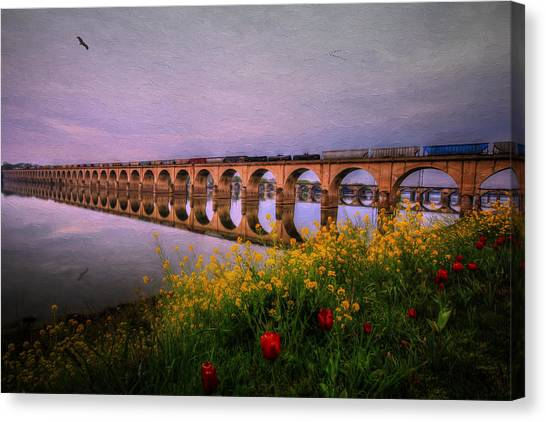 Springtime Reflections From Shipoke Canvas Print