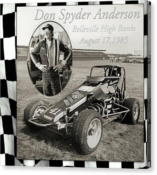 Spyder Canvas Print