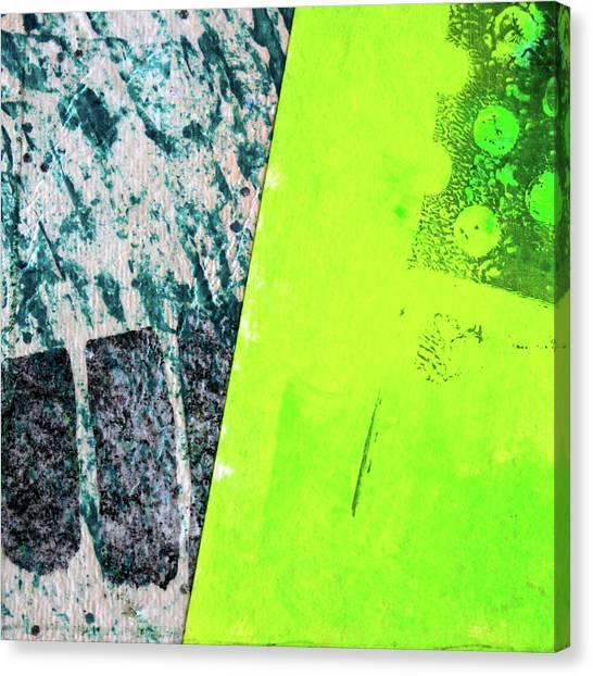 Simple Canvas Print - Square Collage No 1 by Nancy Merkle