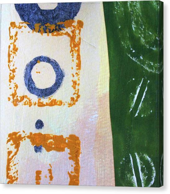 Simple Canvas Print - Square Collage No 2 by Nancy Merkle