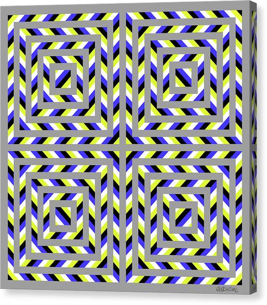 Squaroo Canvas Print