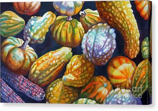 Squash Canvas Print by Gail Zavala
