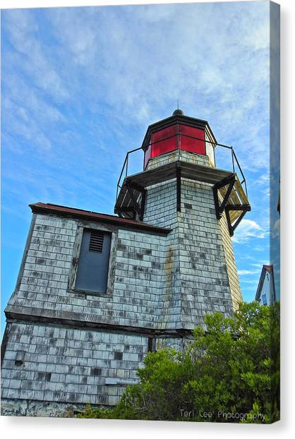 Squirrel Point Lighthouse Canvas Print