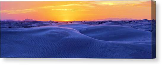 Sahara Desert Canvas Print - Scramble by Chad Dutson
