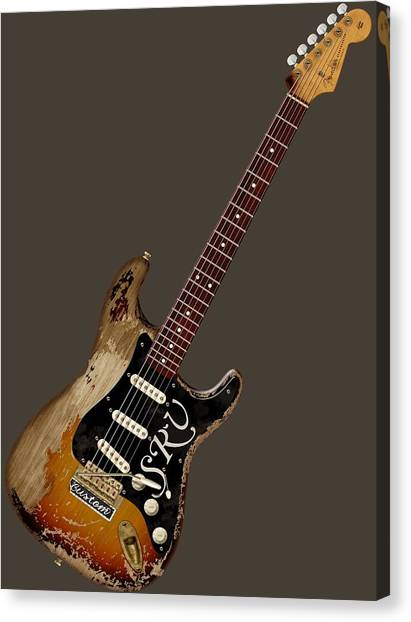 Srv Number One Canvas Print
