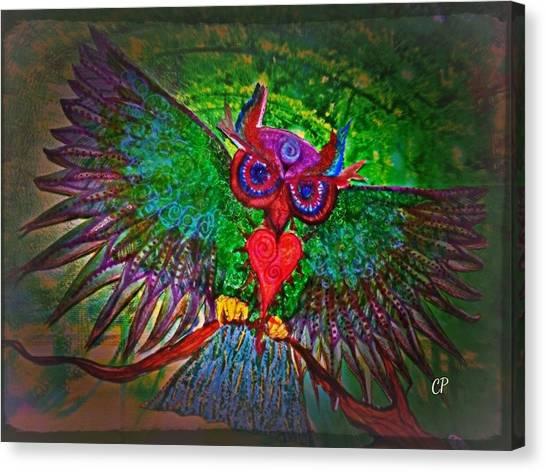 Ss Owl Canvas Print