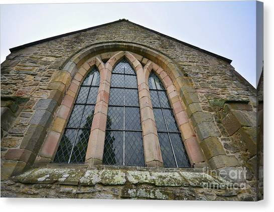 Church Canvas Print - St Agatha's Church, Easby by Smart Aviation