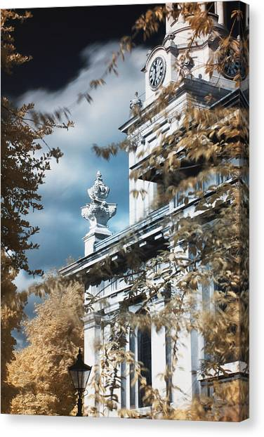 St Alfege Parish Church In Greenwich, London Canvas Print