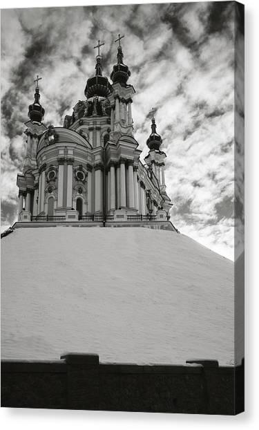 St. Andrew Church. Kyiv, 2014. Canvas Print
