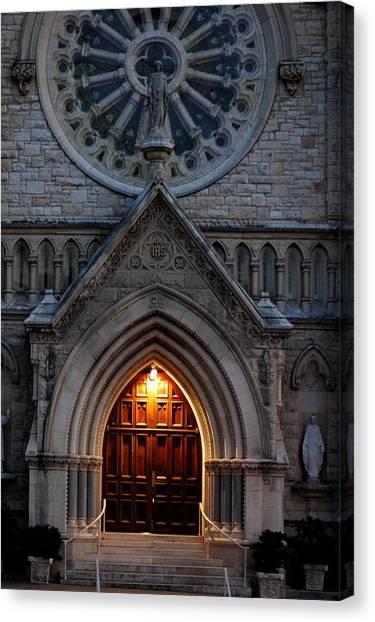 St Annes Church Canvas Print by Teresa Blanton