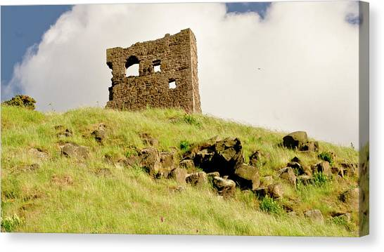 St. Anthony's Chapel Ruins. Canvas Print