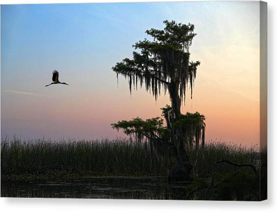 St Augustine Morning Canvas Print