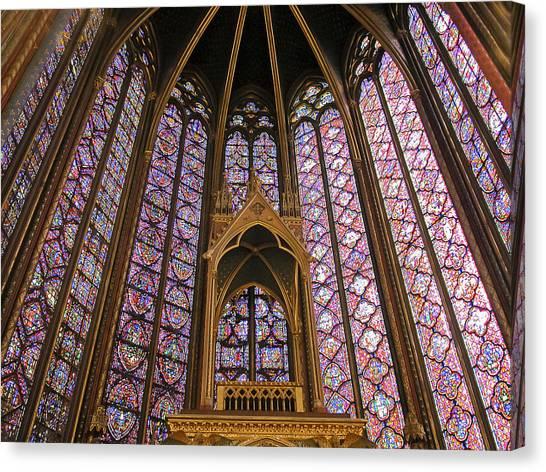 St Chapelle Paris Canvas Print