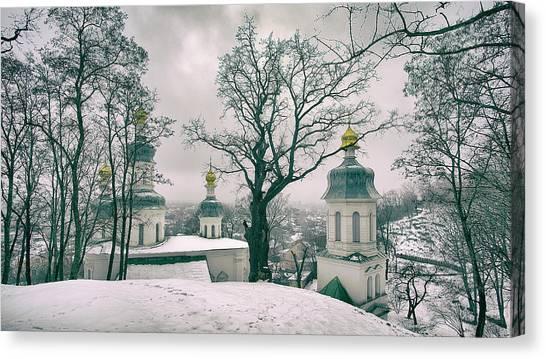 St. Elias Church. Chernihiv, 2017. Canvas Print