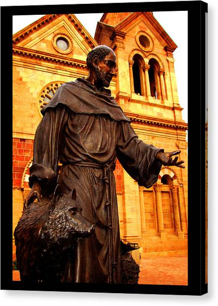 Cathedral Basilica Of St. Francis Of Assisi Canvas Print