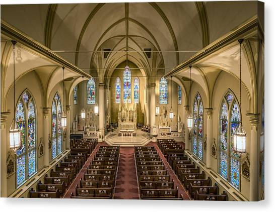 St. Francis Xavier Cathedral Canvas Print