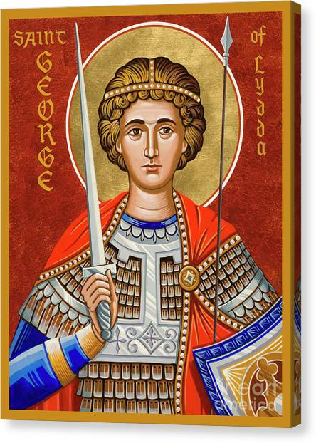 St. George Of Lydda - Jcgly Canvas Print