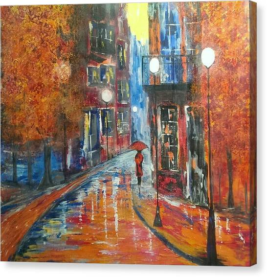 St Germaine Paris Canvas Print