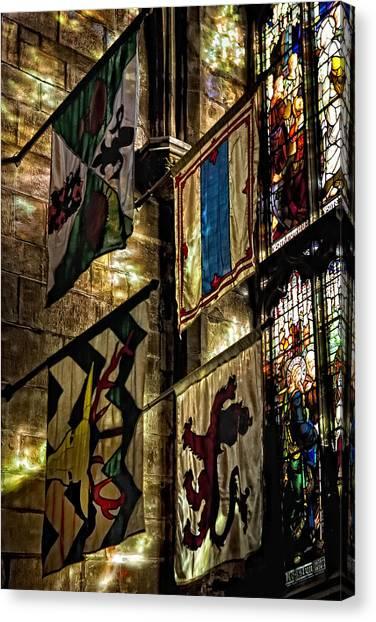 St. Giles Cathedral Edinburgh Canvas Print by Jim Dohms