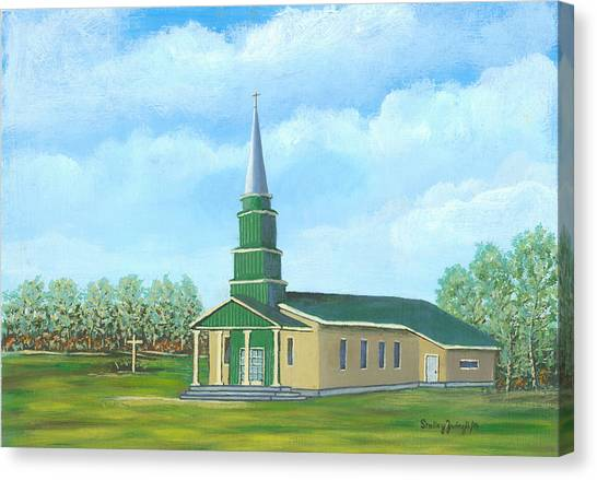 St. Helens - Sacred Ground Canvas Print by Shelley Zwingli