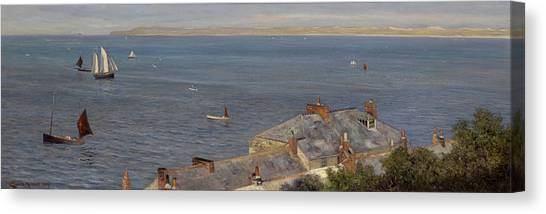 St Ives Canvas Print - St Ives by Charles Sim Mottram