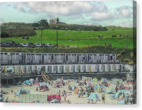 St Ives Canvas Print - St Ives Cornwall by Martin Newman