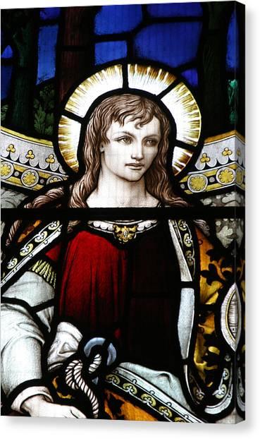 St James Canvas Print by Jez C Self