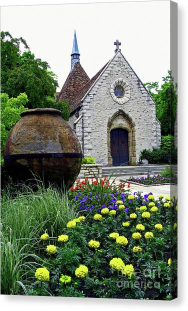 University Of Wisconsin - Madison Canvas Print - St. Joan Of Arc Chapel by Nieves Nitta