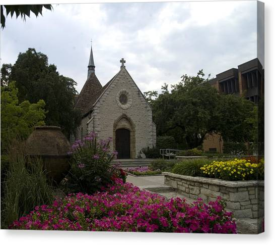 Marquette University Canvas Print - St Joan Of Arc Chapel by Peter Skiba