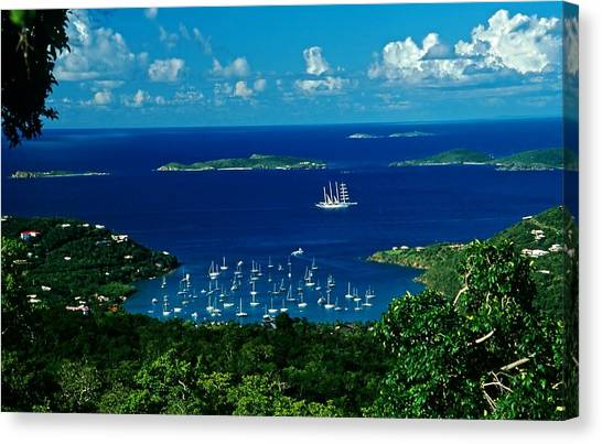St. John Morning Canvas Print