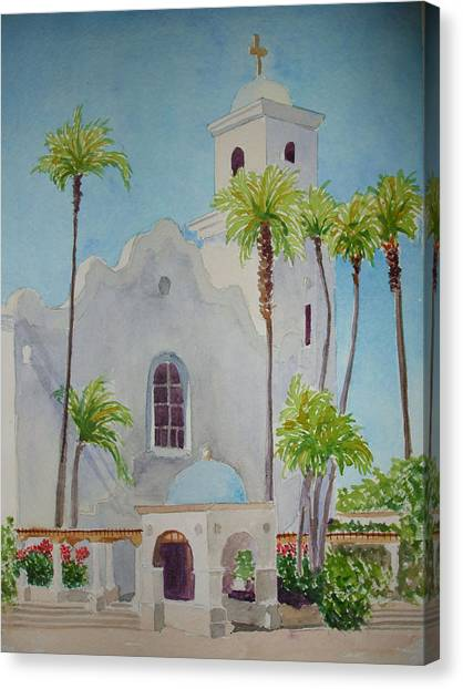 St John Of The Cross Canvas Print by Ally Benbrook