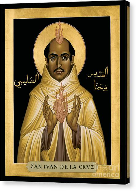 St. John Of The Cross - Rljdc Canvas Print