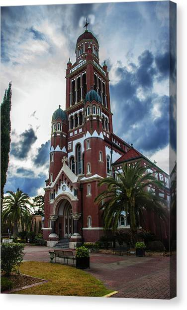 St. Johns Cathedral 1 Canvas Print