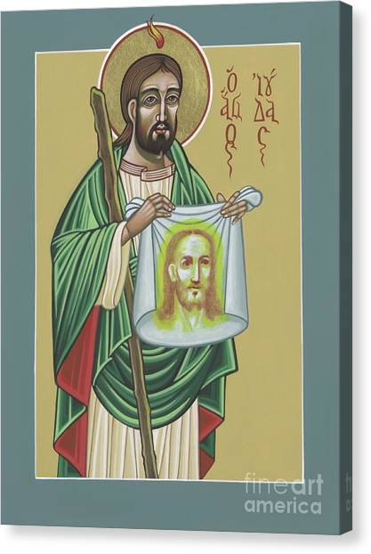 St Jude Patron Of The Impossible 287 Canvas Print