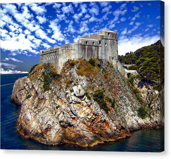 St. Lawrence Fortress Canvas Print