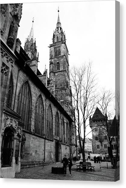 St. Lorenz Cathedral Canvas Print