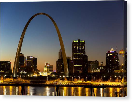 St. Louis Arch Canvas Print