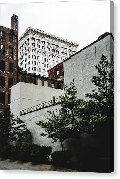 St. Louis Architecture. Downtown St. Louis. Canvas Print by Dylan Murphy