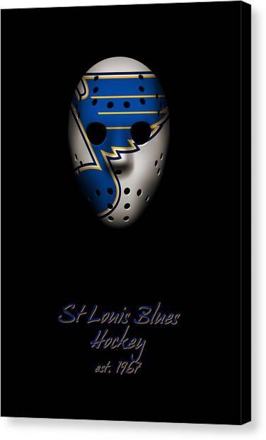 St. Louis Blues Canvas Print - St Louis Blues Established by Joe Hamilton