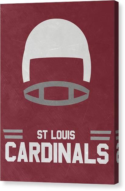 St. Louis Cardinals Canvas Print - St Louis Cardinals Vintage Art by Joe Hamilton