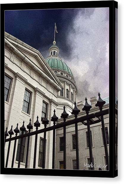 St Louis Courthouse Canvas Print