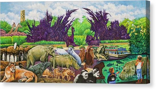 St. Louis Zoo Canvas Print