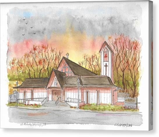 St. Malachy Church, Tehachapi, California Canvas Print