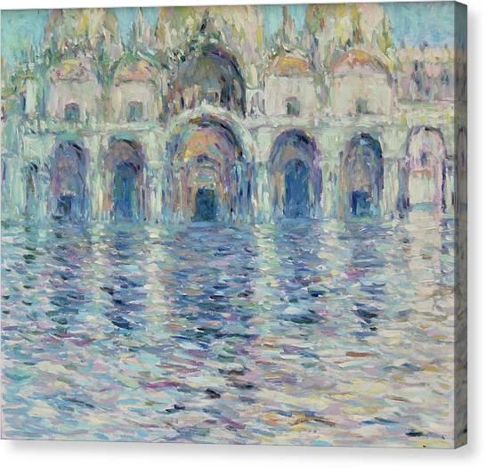 st-Marco square- Venice Canvas Print
