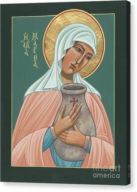 St Martha Of Bethany  Canvas Print