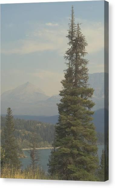 St. Mary Lake, Glacier, Montana Canvas Print by Joseph Thiebes